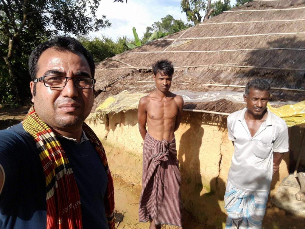 Kesaksian Wartawan Bangladesh Pertama yang Masuk Desa Rohingya