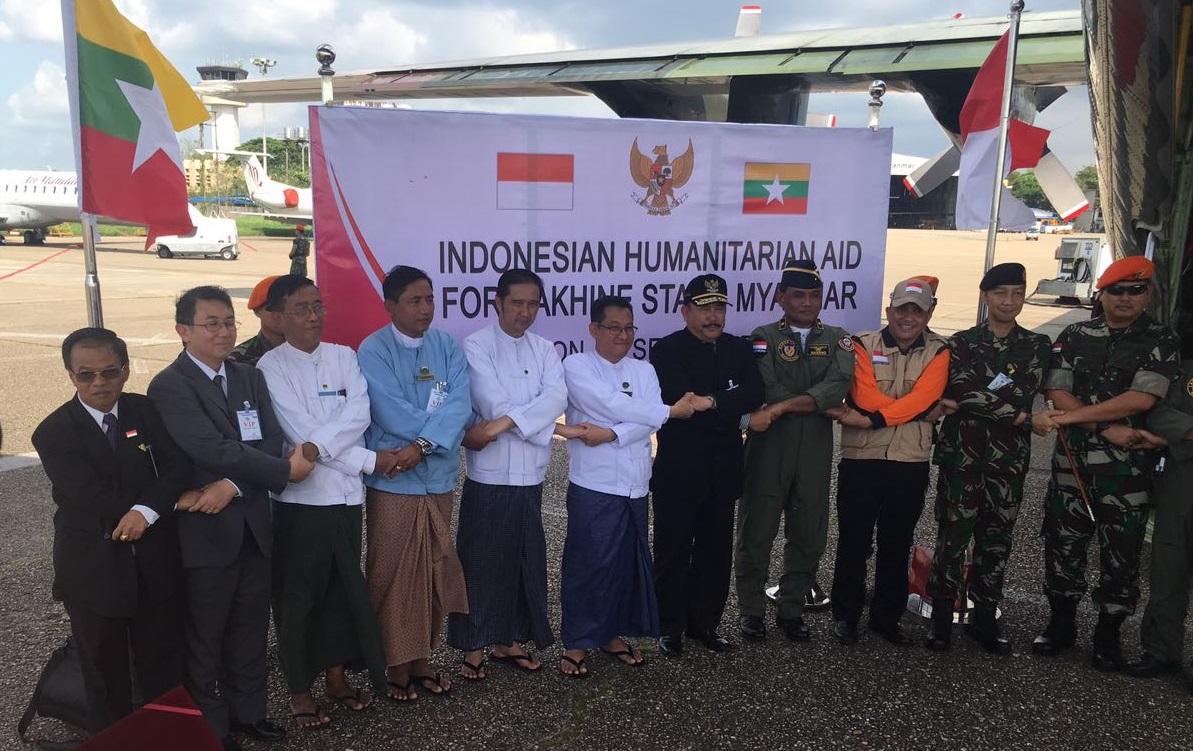 Pemerintah Myanmar Apresiasi Bantuan Kemanusiaan Indonesia