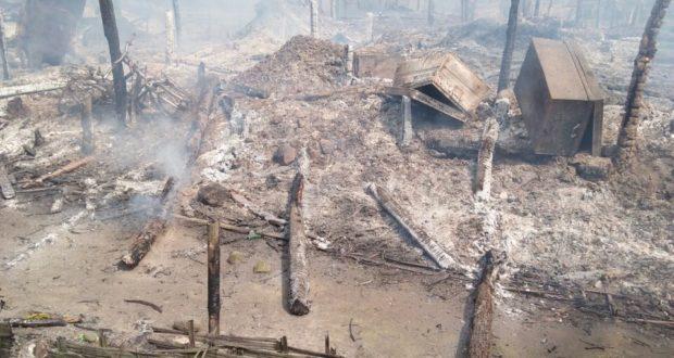 Amnesty: Pasukan Myanmar Gunakan Taktik Bumi Hangus di Rakhine