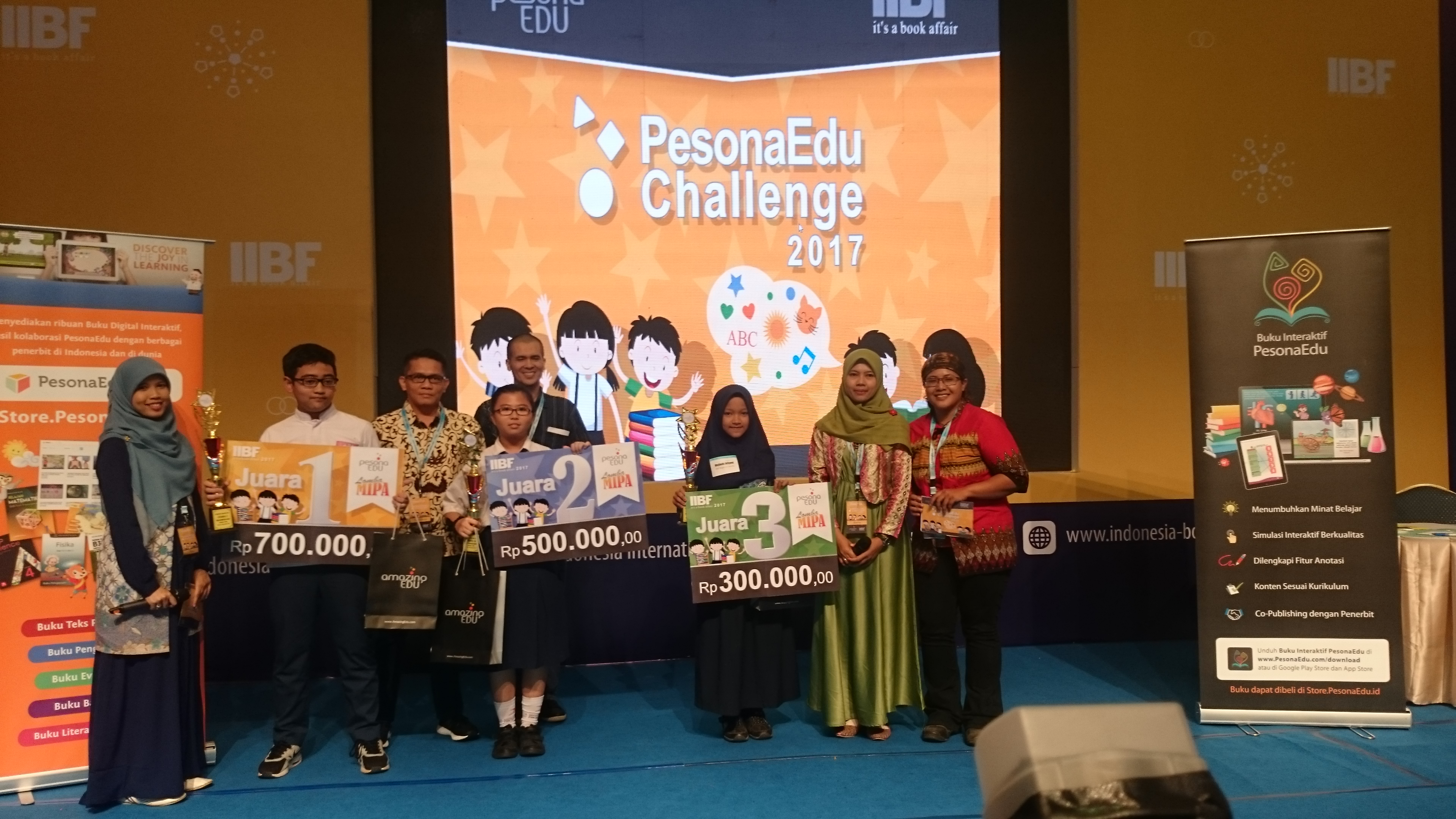 60 SMP Ikuti Lomba Matematika dan Science di IIBF