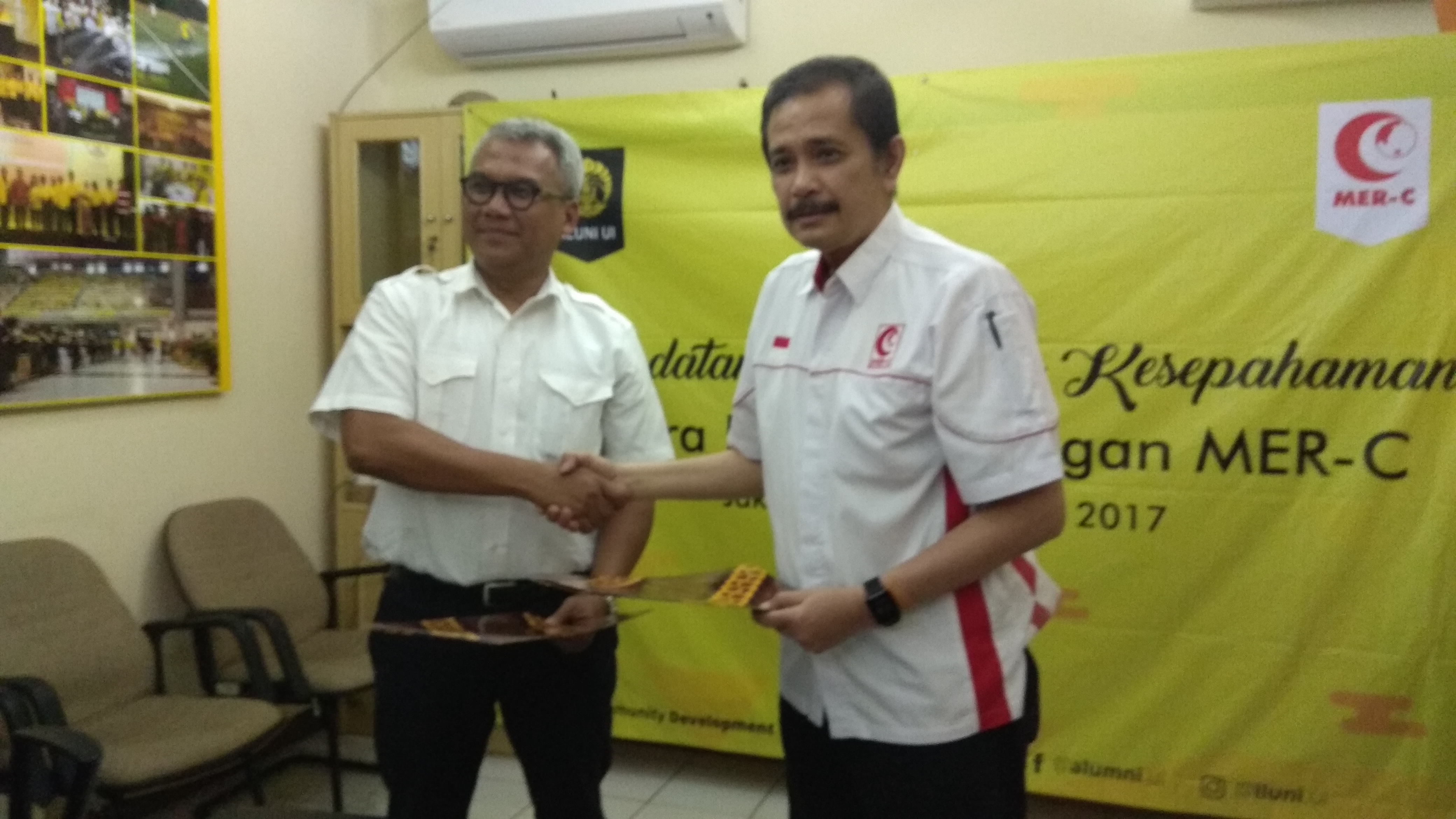 Alumni UI dan MER-C Jalin Kerjasama Bantu Rohingya