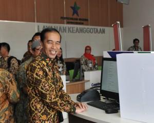 Jokowi Resmikan Perpustakaan Nasional Tertinggi di Dunia