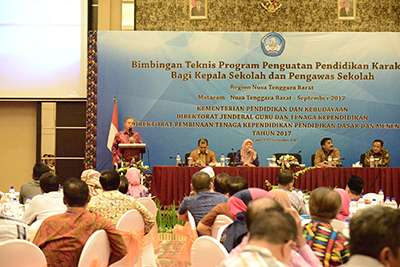 Berbagi Praktik Baik Pendidikan Karakter di Nusa Tenggara Barat