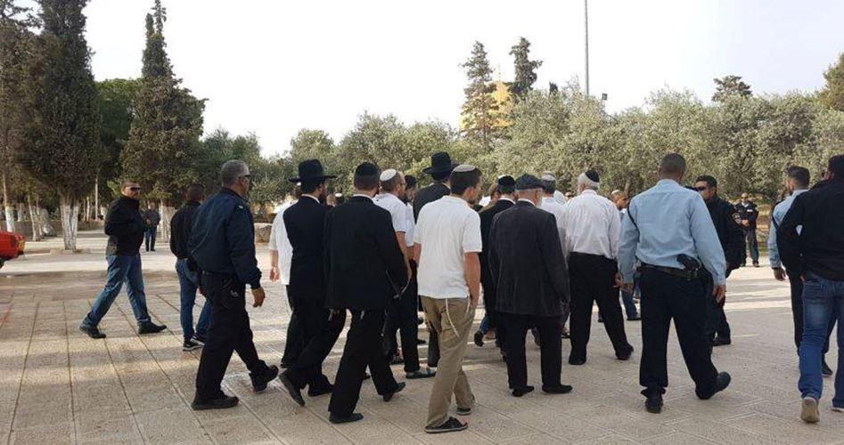 Sebanyak 130 Ekstrimis Yahudi Serbu Masjid Al-Aqsha