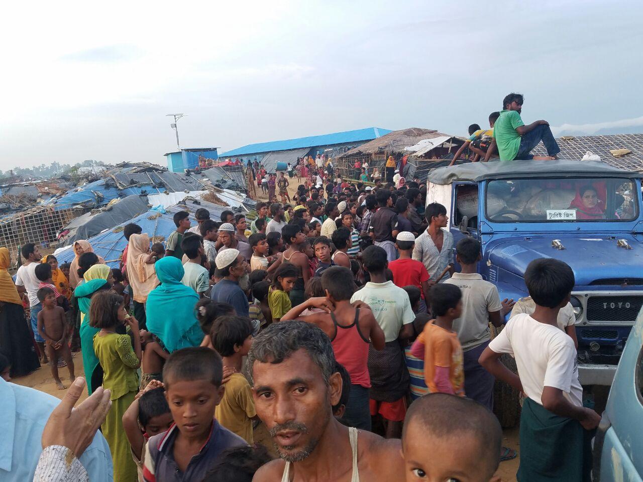 Bantuan Kemanusiaan Indonesia untuk Rohingya Mulai Didistribusikan