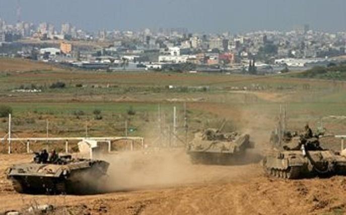 Tank dan Buldoser Israel Rusak Lahan Pertanian Perbatasan Gaza
