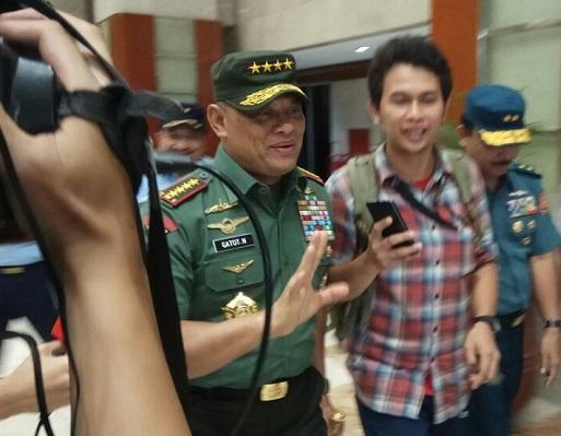 Panglima TNI Sudah Beri Penjelasan Pada Presiden