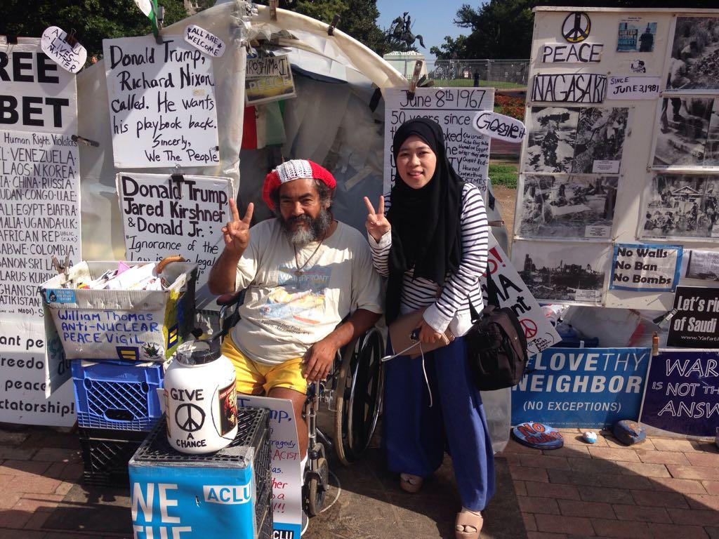 Satu-satunya Kampanye Palestina yang Diizinkan di Gedung Putih
