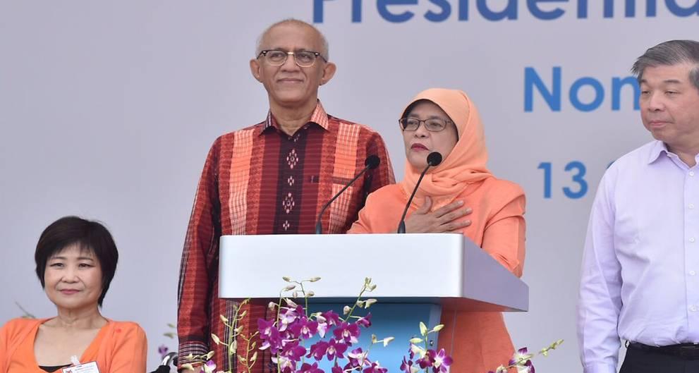 Halimah Yacob Jadi Presiden Singapura