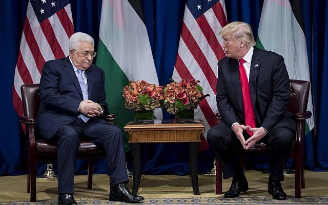 Abbas Bertemu Trump di Sidang Umum PBB
