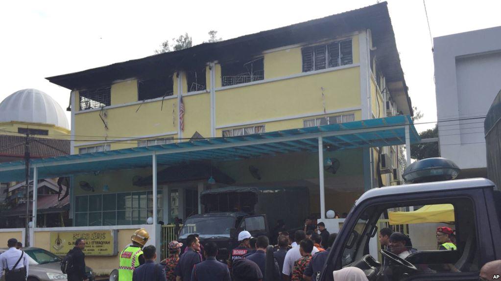 Sekolah Tahfidz Terbakar, Dicurigai Ada Bahan Kimia