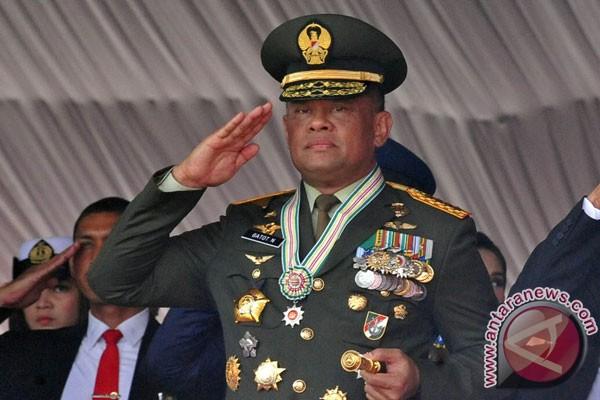 """Jenderal Gatot: """"Presiden Minta Saya Tidak ke AS"""""""