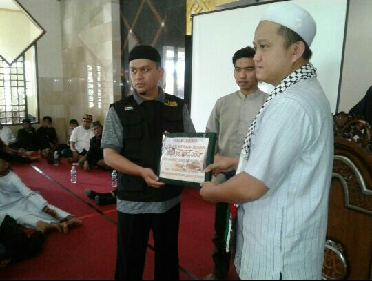 AWG Tasikmalaya Donasi Rp. 30 Juta Untuk Muslim Rohingya