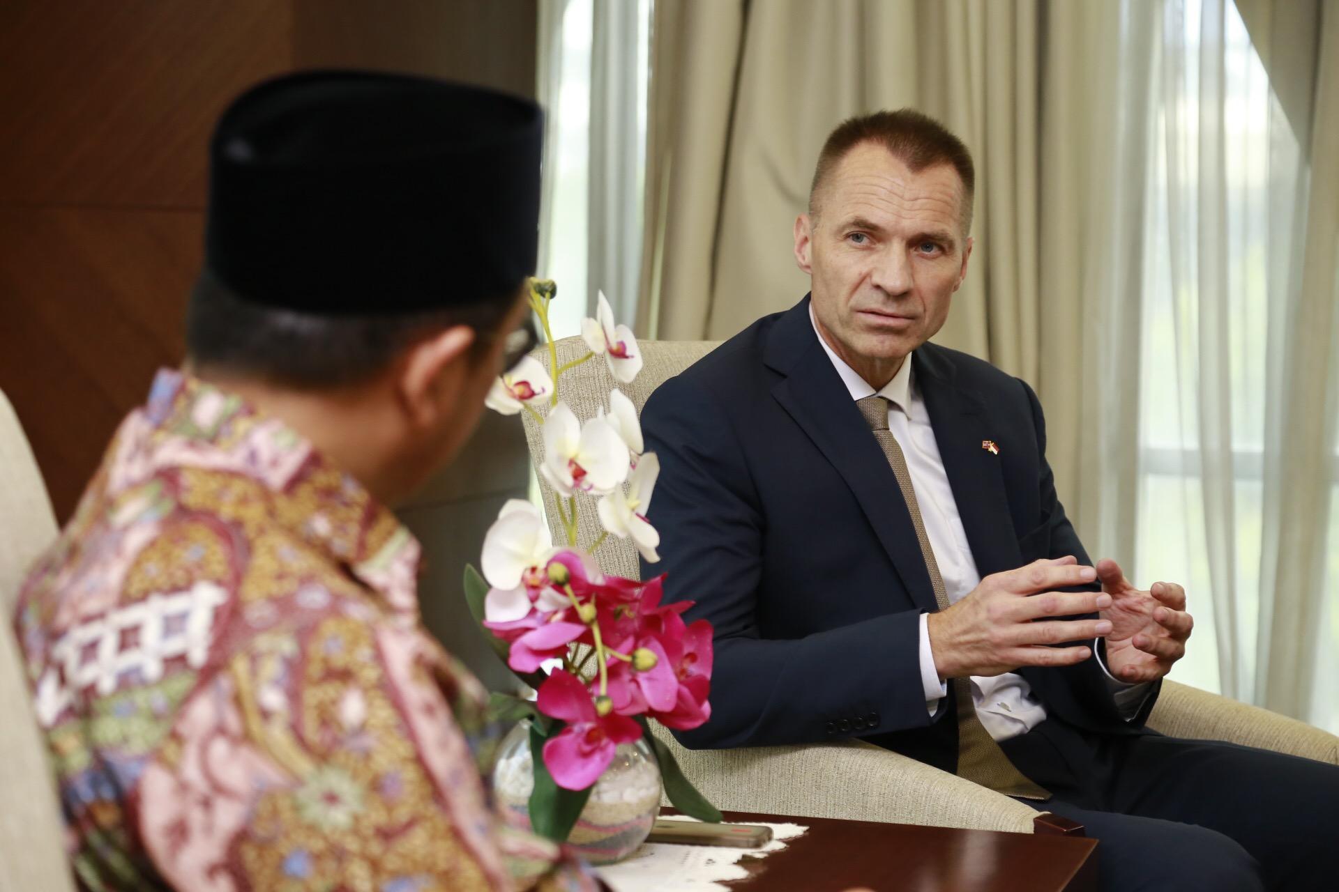 Dubes Norwegia Apresiasi Toleransi Beragama di Indonesia