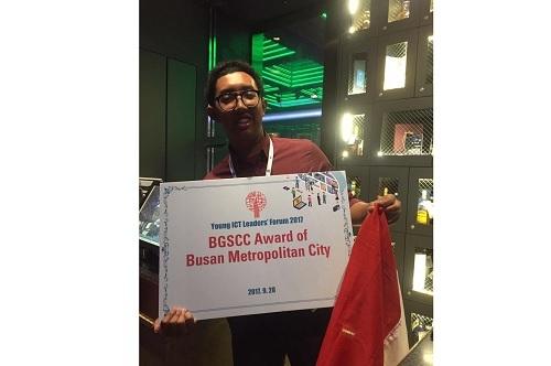 Mahasiswa UGM Raih Penghargaan Busan Global Smart Cities