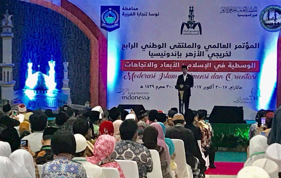 Presiden Jokowi Menutup Konferensi Internasional Alumni Al-Azhar