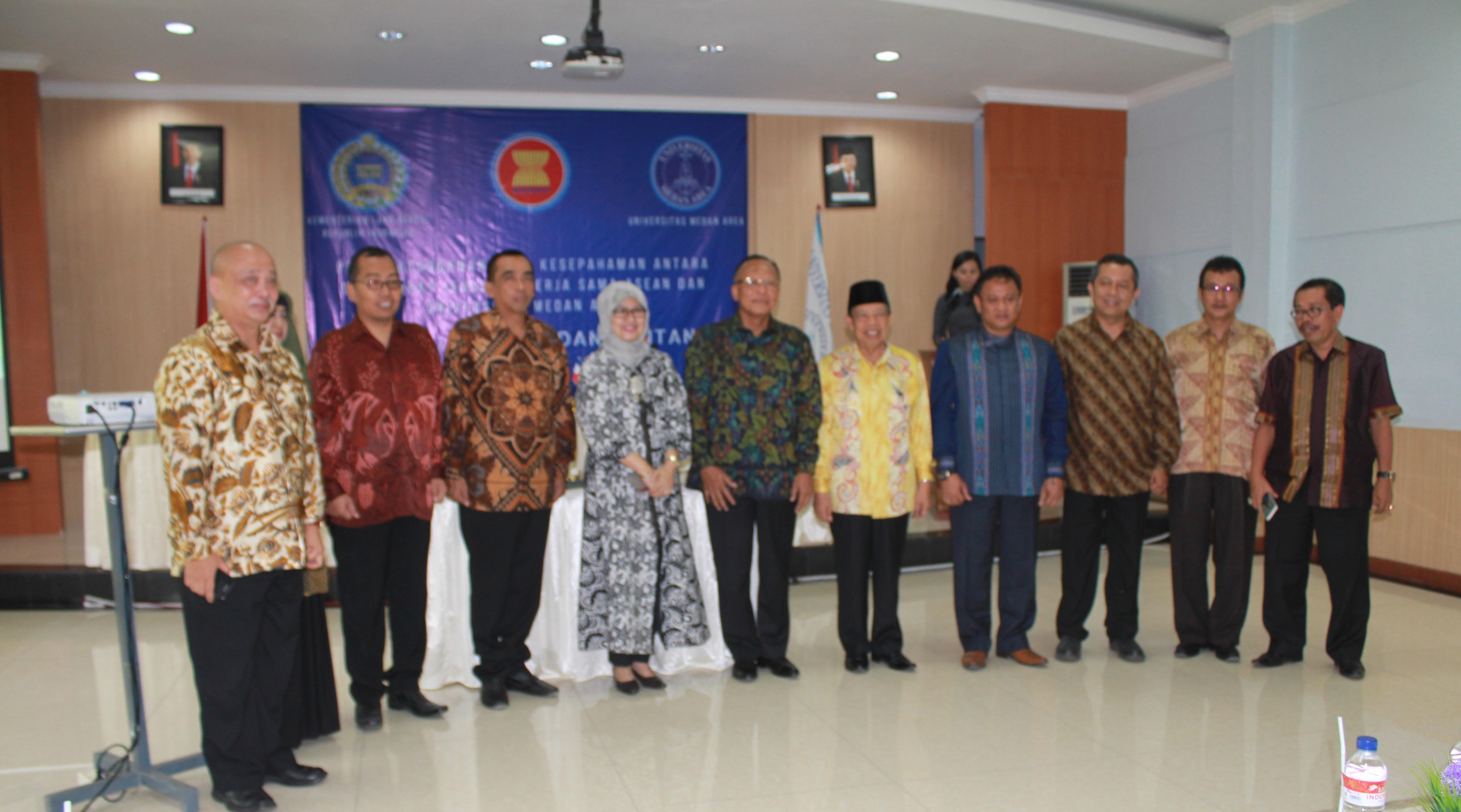 Pusat Studi ASEAN Universitas Medan Fokus Pada UMKM