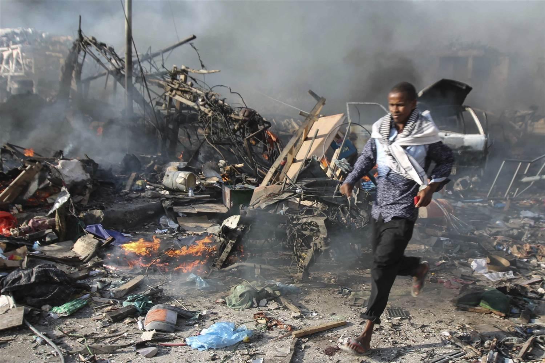 Korban Bom Mogadishu Capai 276 Orang, 300 Luka
