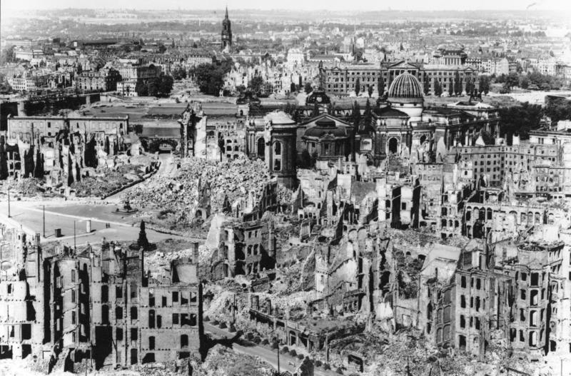 Rusia Samakan Pengeboman Koalisi AS di Raqqa dengan Dresden PDII