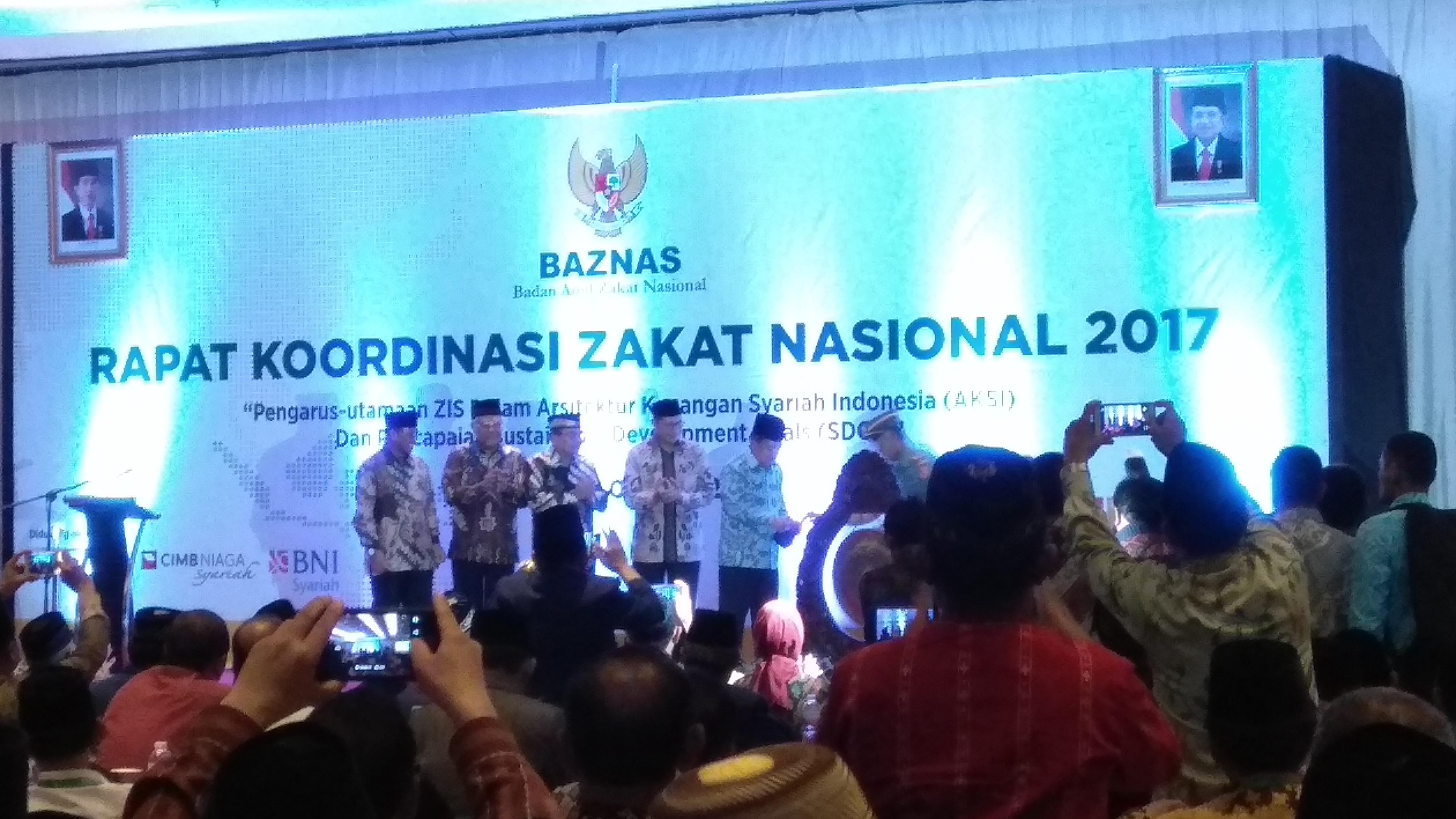 Wapres Jusuf Kalla Buka Rapat Koordinasi Zakat Nasional 2017