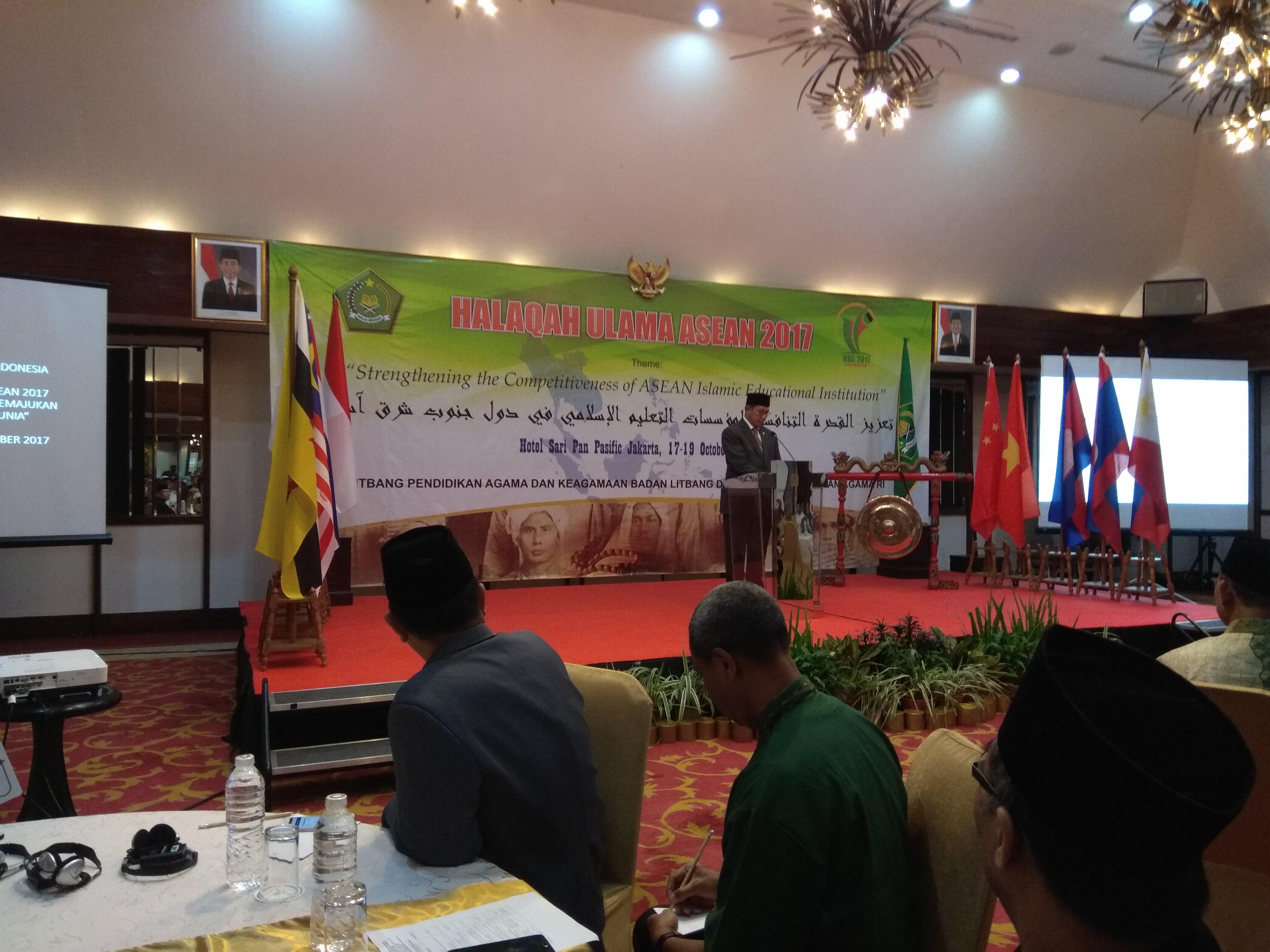 Menteri Agama Buka Halaqah Ulama ASEAN 2017