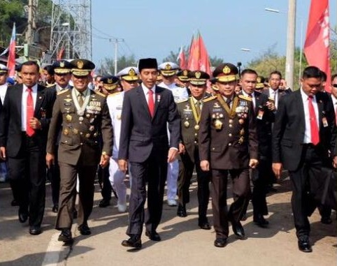 Presiden Jokowi: Terima Kasih TNI