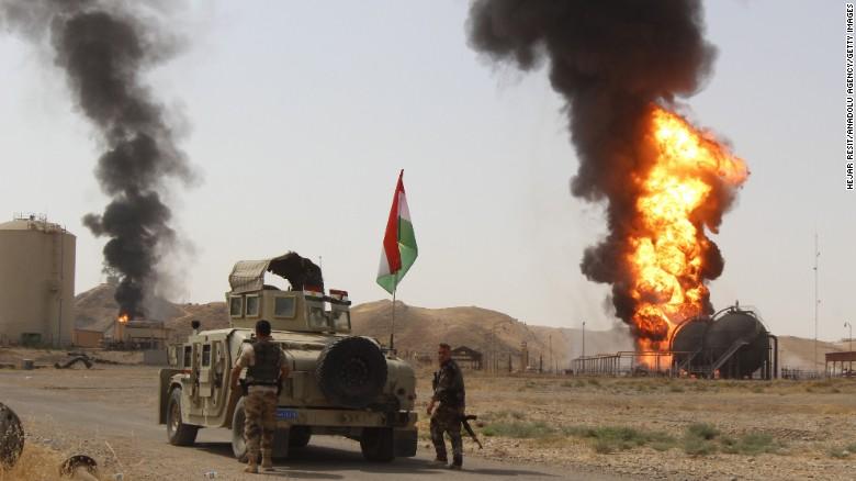 Tentara Irak Bantah Lancarkan Operasi untuk Rebut Provinsi Kirkuk