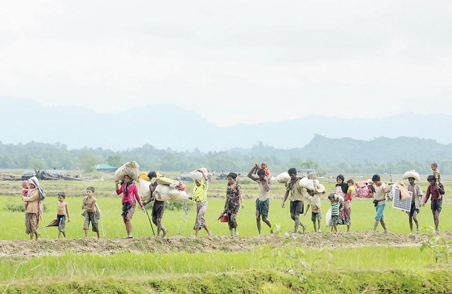 Rohingya: Operasi Militer Myanmar Dimulai Sebelum Serangan ARSA