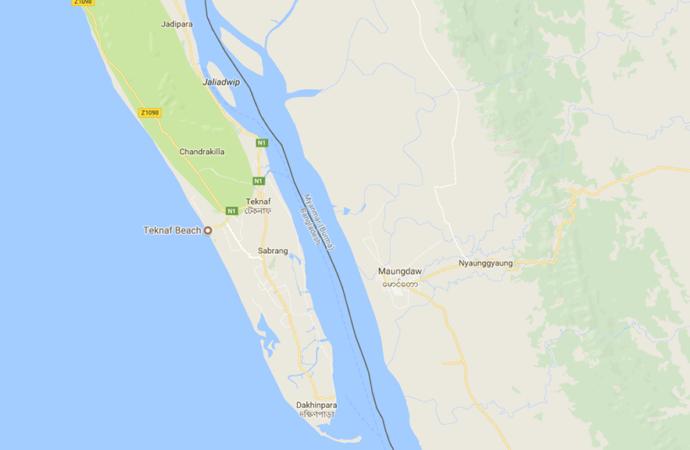 Lima Mayat Rohingya Ditemukan Lagi di Sungai Naf
