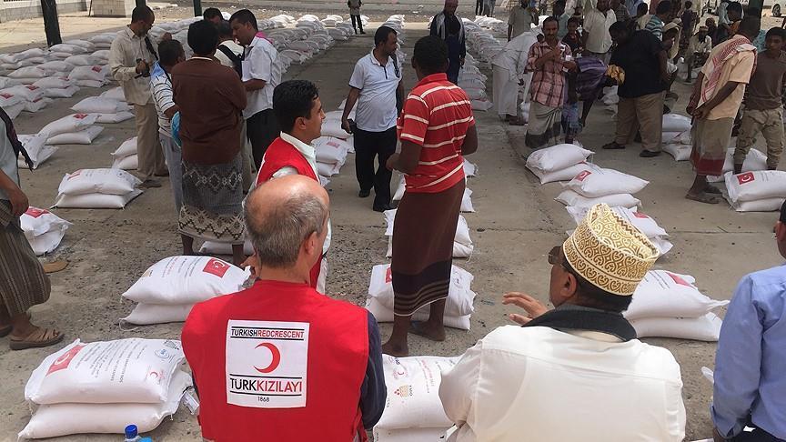 Turki Kirim Paket Bantuan Pangan ke Yaman