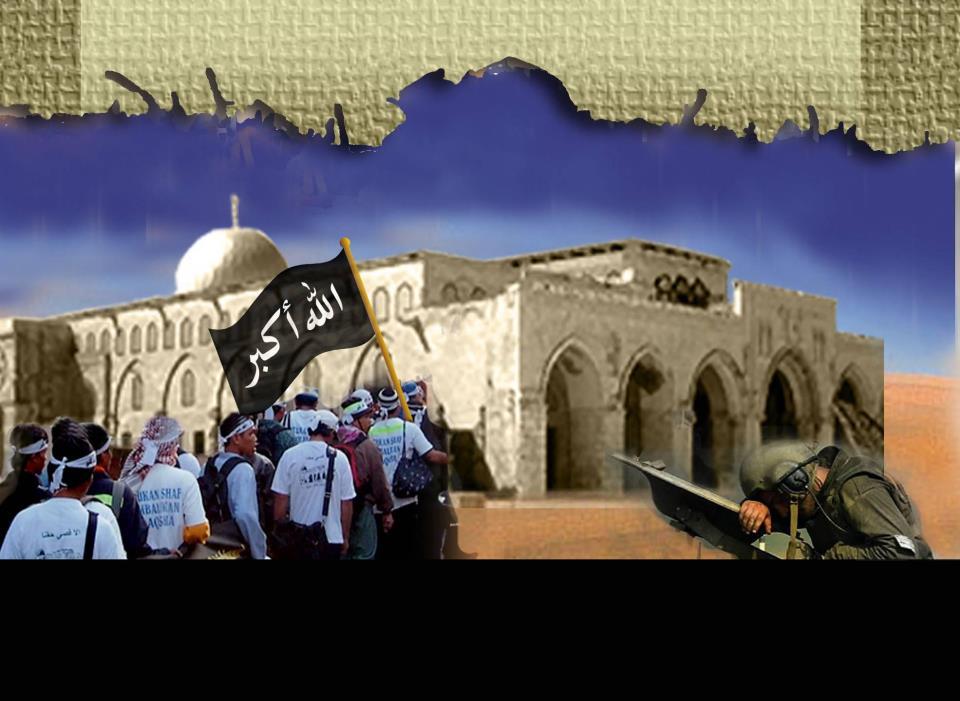 Api Perjuangan Al-Aqsa Terus Menyala