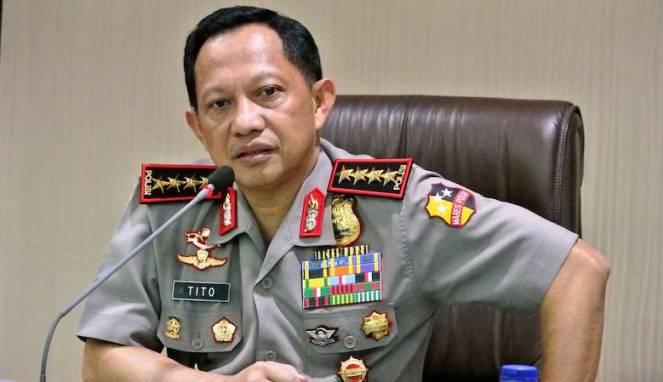 Tito Karnavian Resmi Diberhentikan sebagai Kapolri