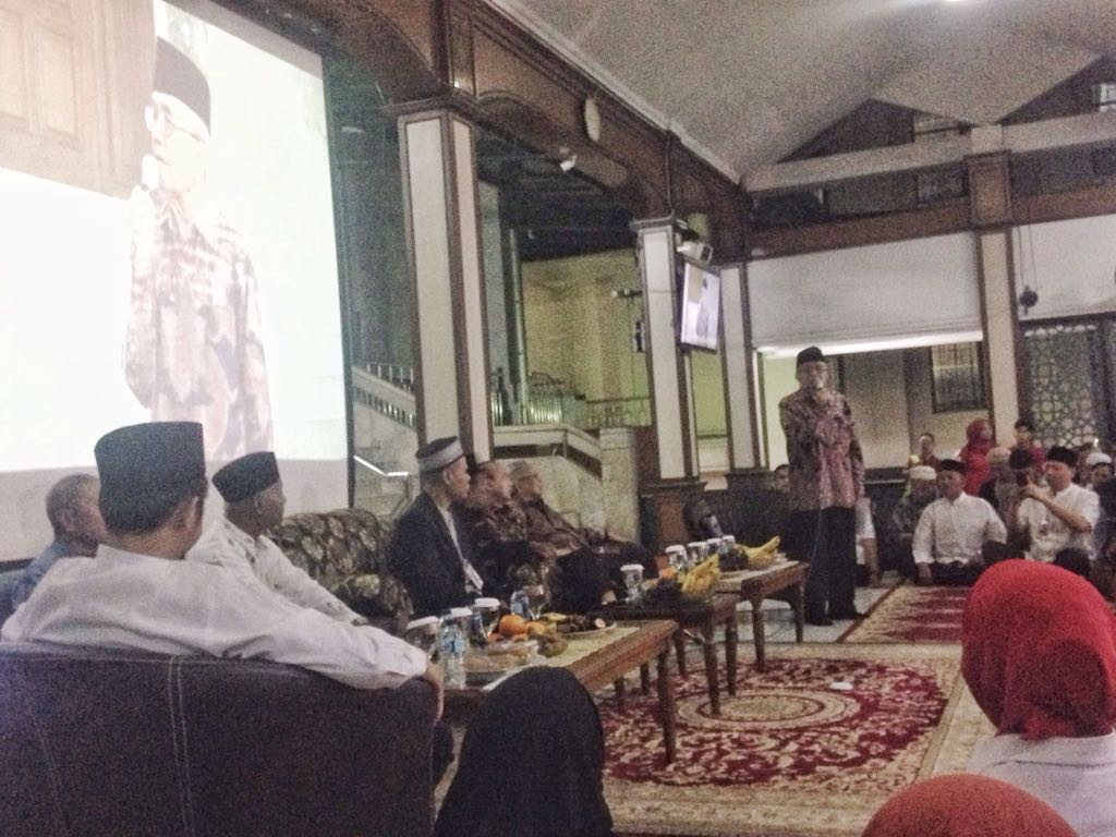 Nobar G30S/PKI di Masjid Sunda Kelapa Hadirkan Para Saksi Sejarah