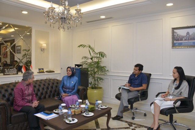 Delegasi UNHCR Sambangi DPR Bahas Krisis Rohingya