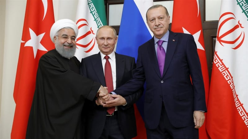 Rusia, Iran dan Turki Sepakat Adakan Kongres Suriah