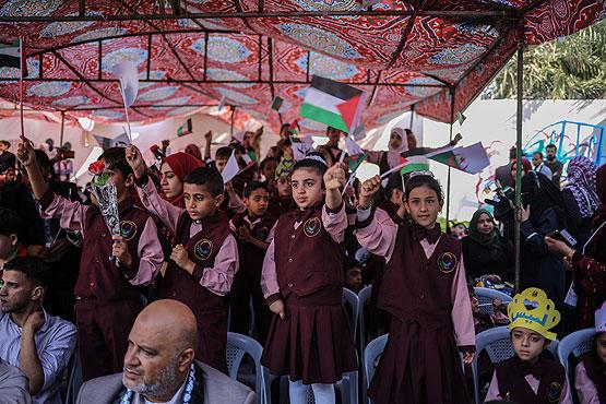 Sekolah Pertama untuk Anak Cacat Resmi Dibuka di Gaza