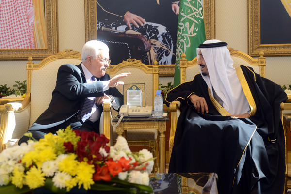 Pejabat Palestina Bantah Laporan Abbas Ditekan Saudi