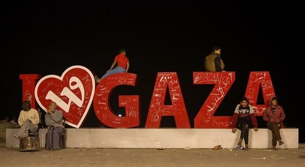 Jalan Gaza yang Tak Pernah Tidur