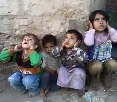 Serangan Udara Saudi Bunuh Anak-anak Yaman