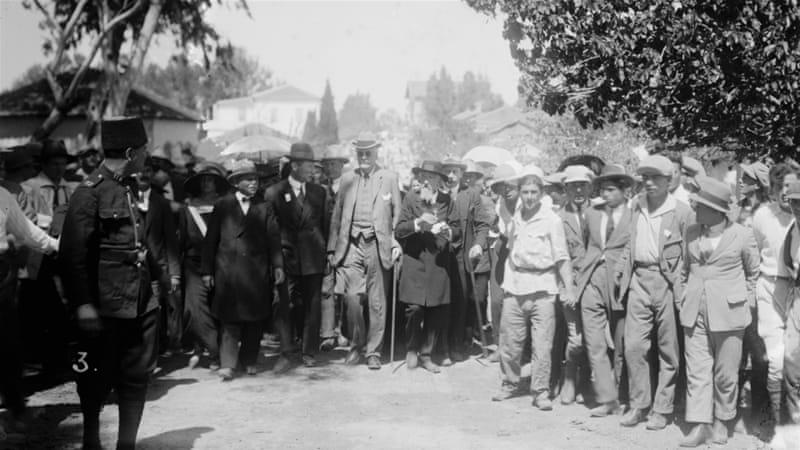 Deklarasi Balfour, Seabad Lalu