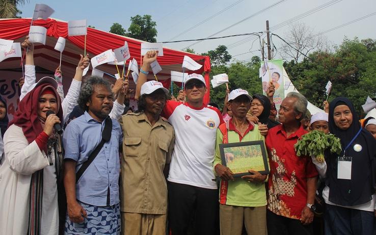 Wagub Buka Festival Jakarta Berbakat 2017 di Kampung Kebun Bayam