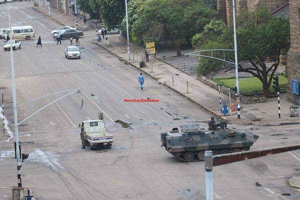 Ibu Kota Harare Tegang, Warga Khawatir Pecah Bentrokan