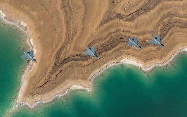 Angkatan Udara Israel Latihan Bersama Tujuh Negara Luar Timur Tengah
