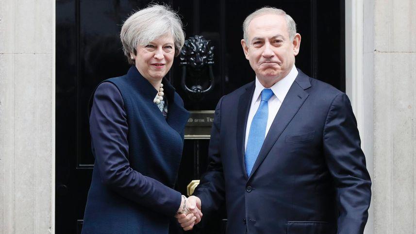 Inggris Peringati Deklarasi Balfour Bersama Netanyahu