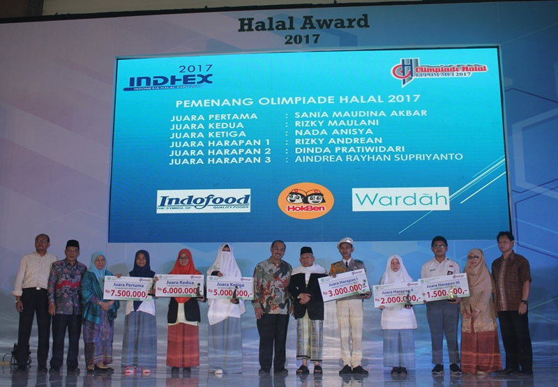 Enam Juara Olimpiade Halal 2017