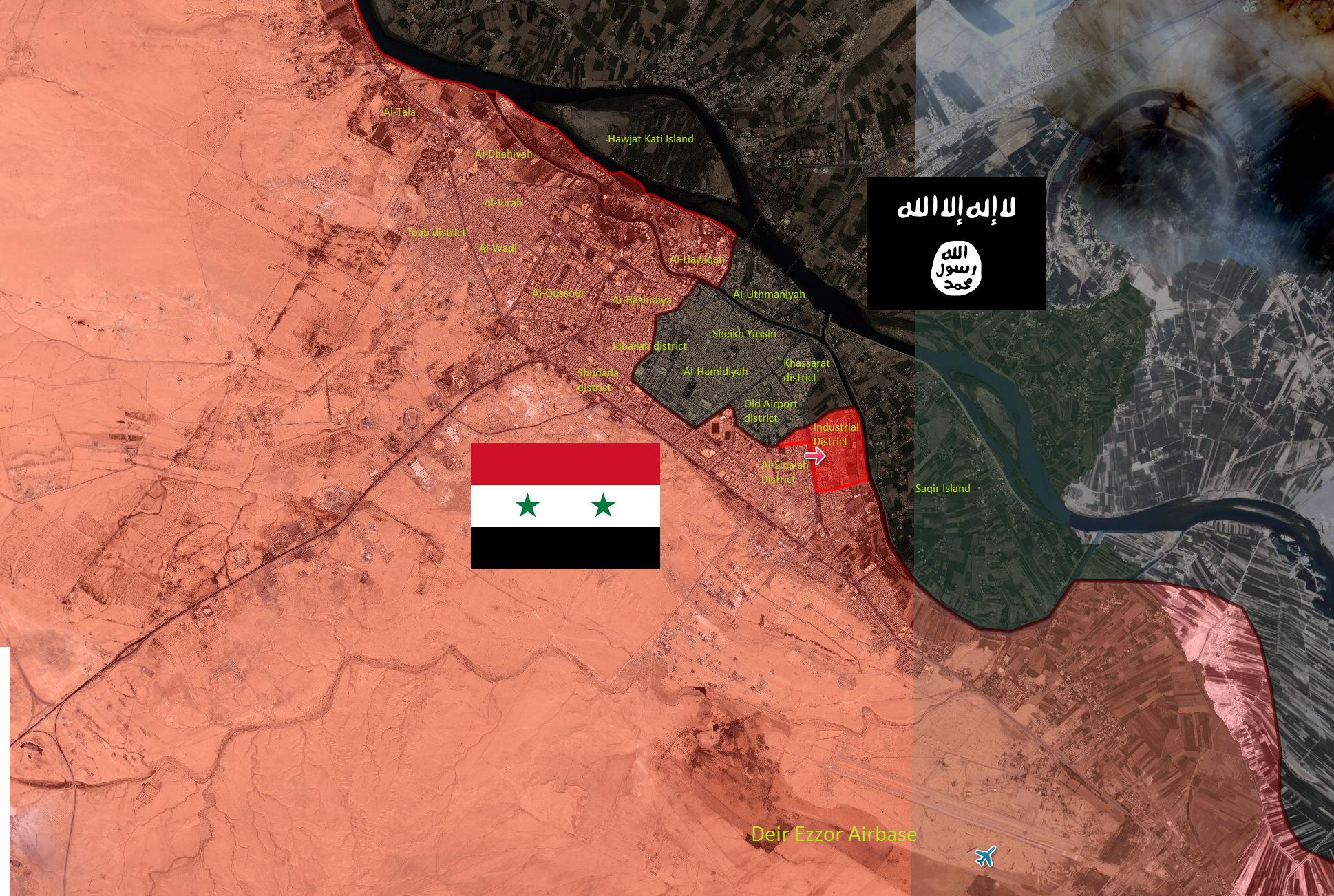 SOHR: Tentara Suriah Rebut Kembali Kota Deir Ezzor dari ISIS
