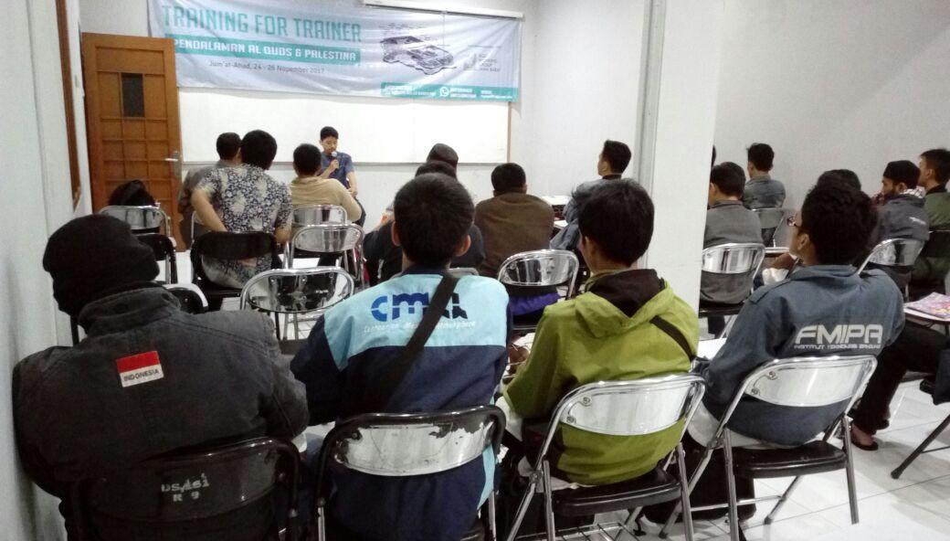 Training for Trainer Al-Quds Kuatkan Komitmen Pembebasan Al-Aqsha