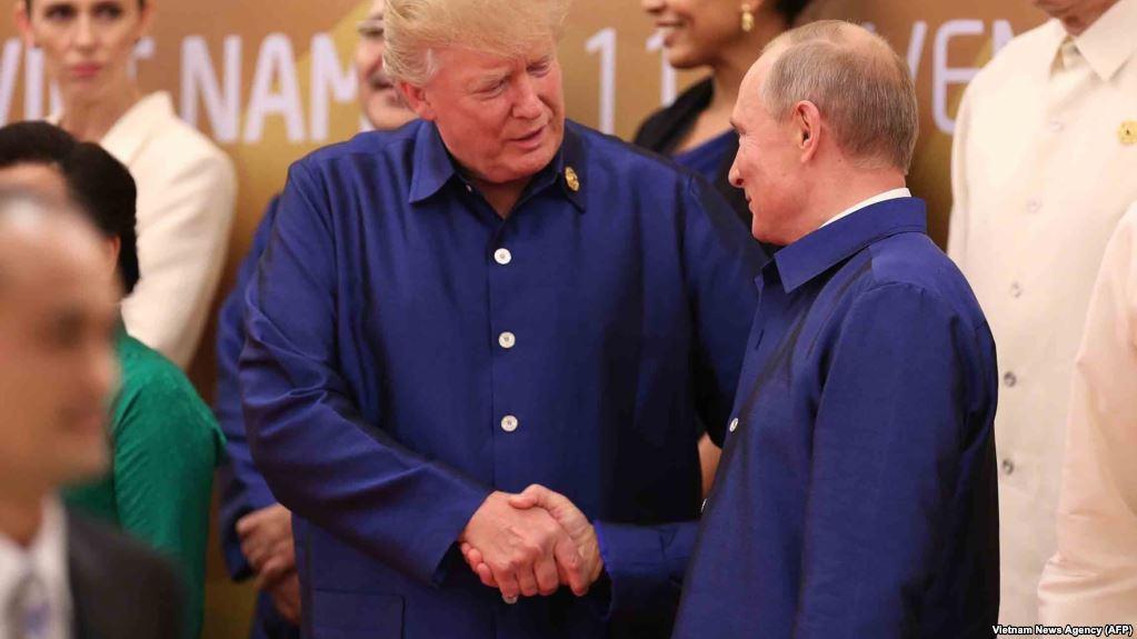 AS-Rusia Bahas Rencana Pertemuan Trump-Putin Lewat Telepon