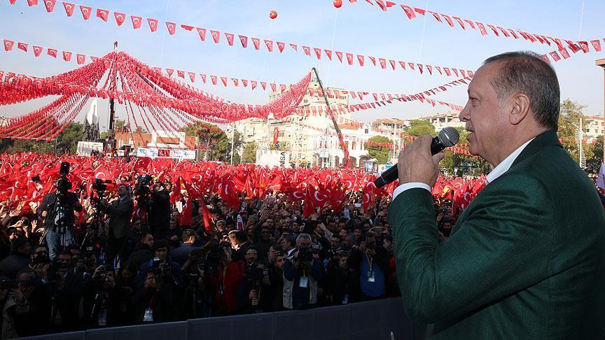 Erdogan Janji Hancurkan Kamp Teroris di Irak dan Suriah