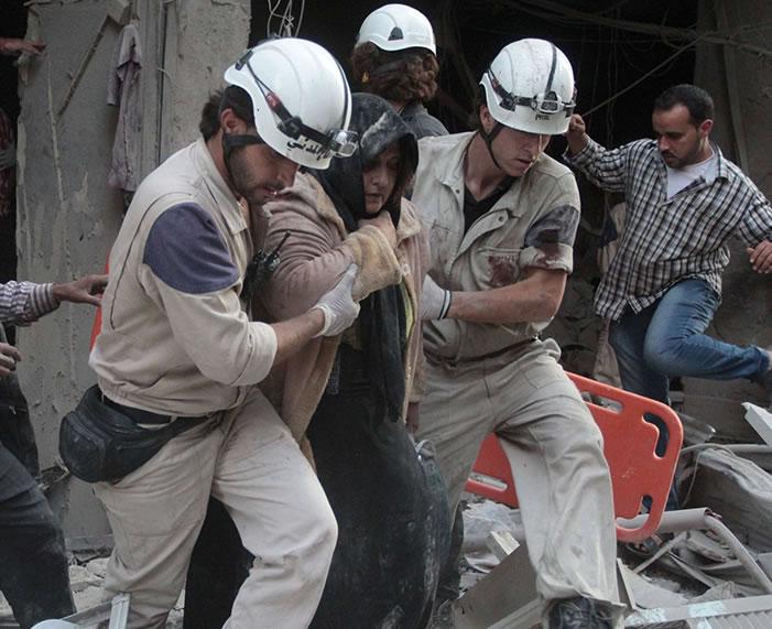Pengeboman Pasukan Suriah pada Idul Fitri Tewaskan 10 Warga Sipil